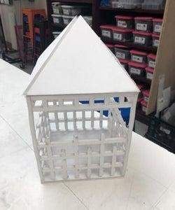 Design Roof, Laser Cut, and Glue