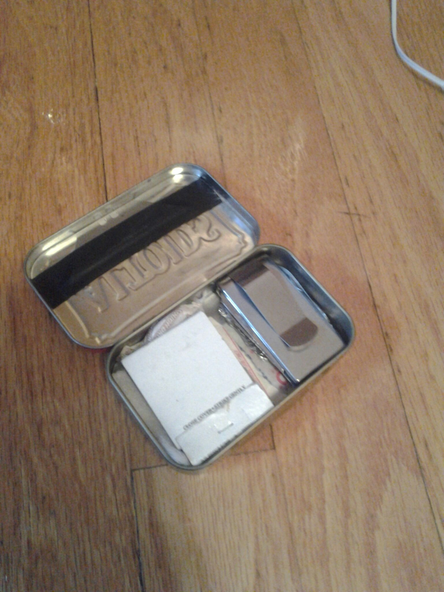 Survival Tin Can