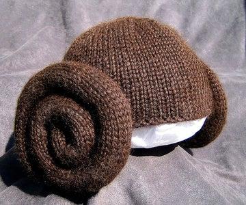 Knit Leia Wig