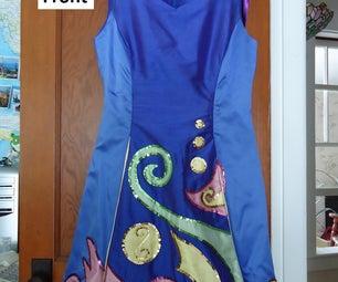 How to Make an Irish Dancing Dress With Princess Seams and Kick Pleats.