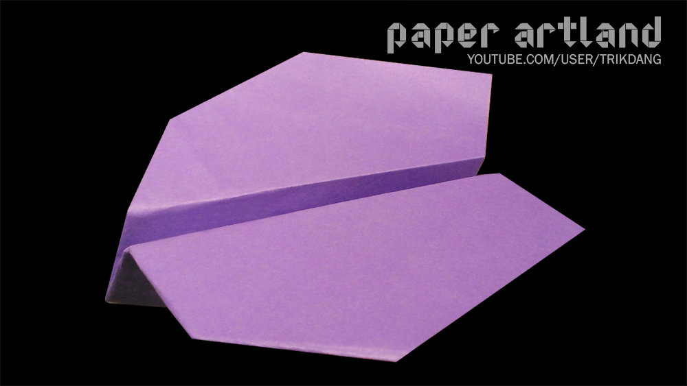 How to Make a Simple Paper Airplane: The Thunder