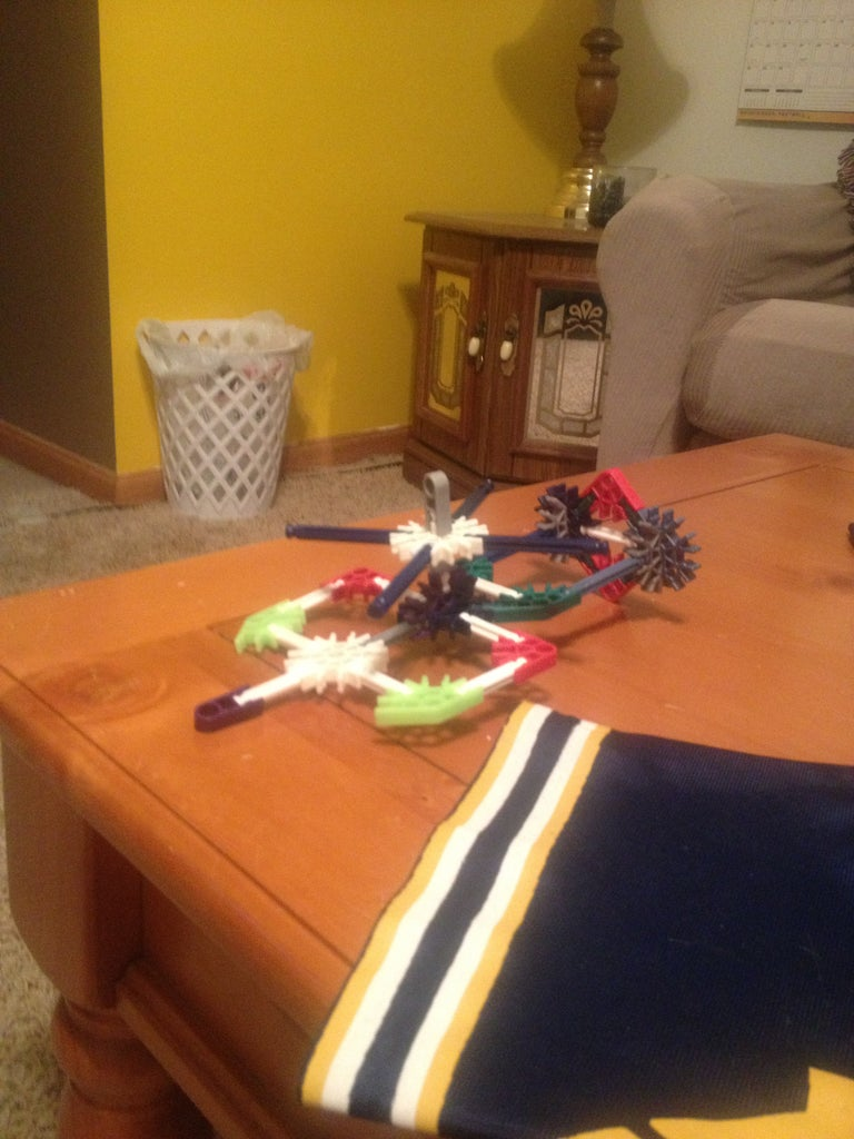 Knex Transformers Helicopter