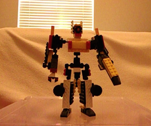 """Lego Transformer: """"I Don't Know What to Call It. It's Cool, So I Just Want to Show You."""""""