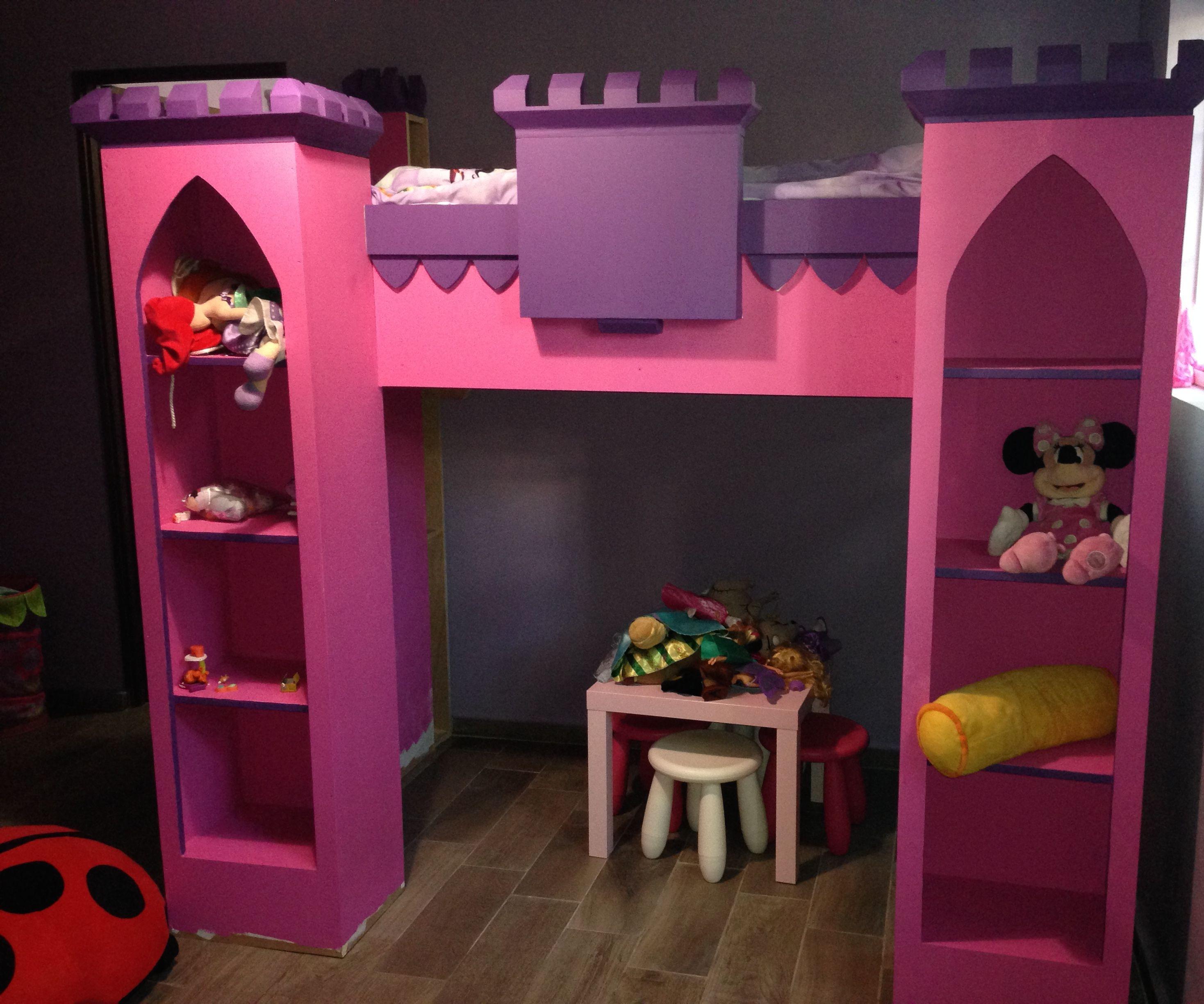 Castle Loft Bed