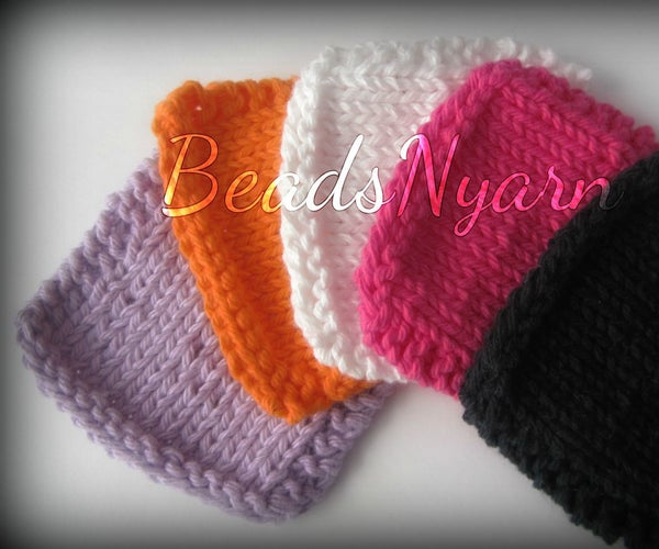 DIY - Knitted Make-up Remover Pads