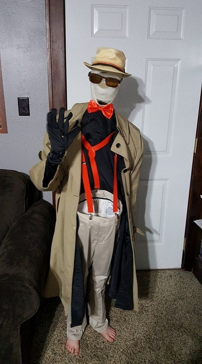 Invisible Man Illusion Costume 6 Steps With Pictures Instructables