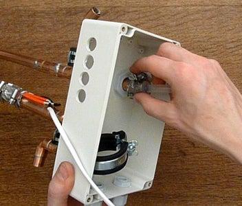 Assembly - Pump and Temperature Sensors