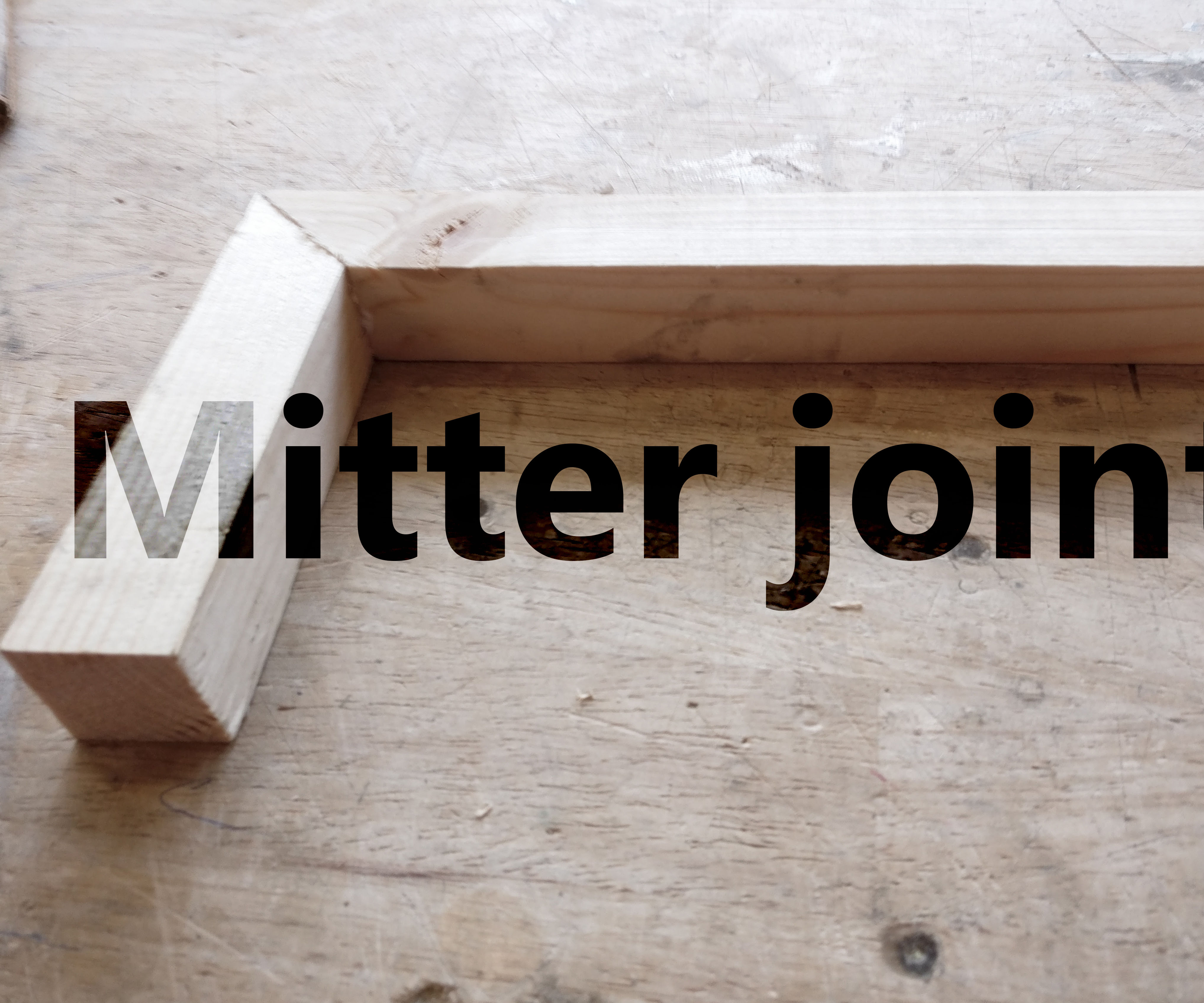 Invisible Glue Joints: Mitter Joint (werkplaatsidc)