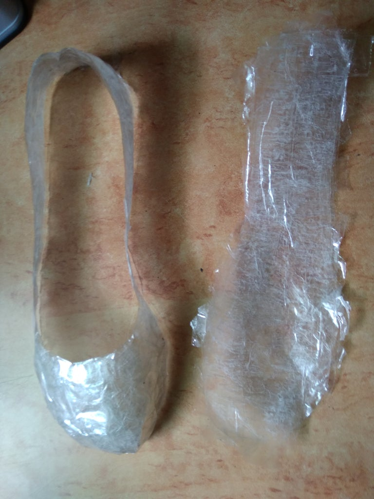 Making the Sole and Finish the Shoe