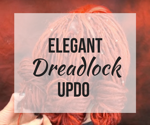 How to Create a Simple Elegant Dread Updo
