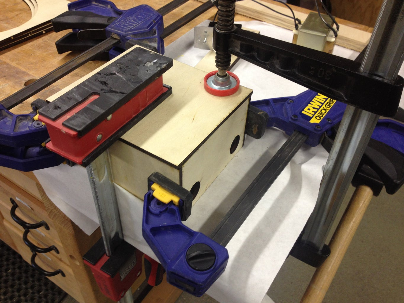Hot Wire Part 1: Setting Up Transformer/rheostat Sytem and Embedding Wire in Casting