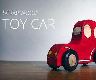 Wooden Push Car