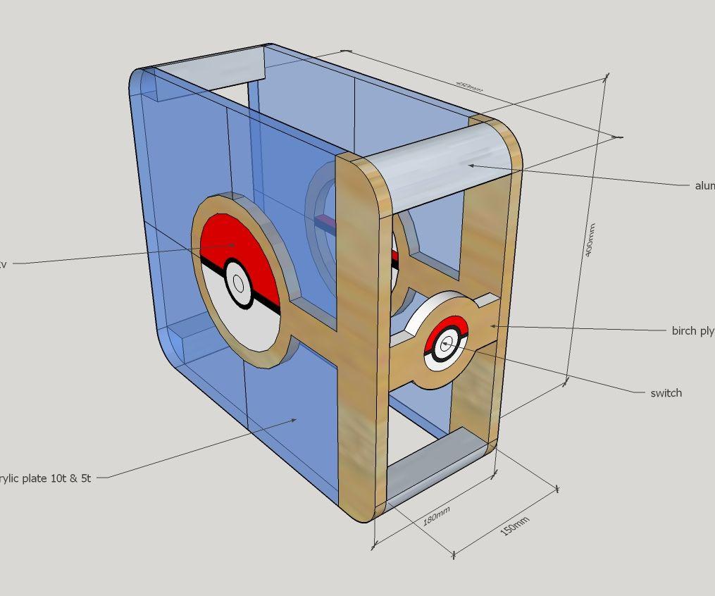 Pokémon PC Case / 포켓몬 피씨 케이스