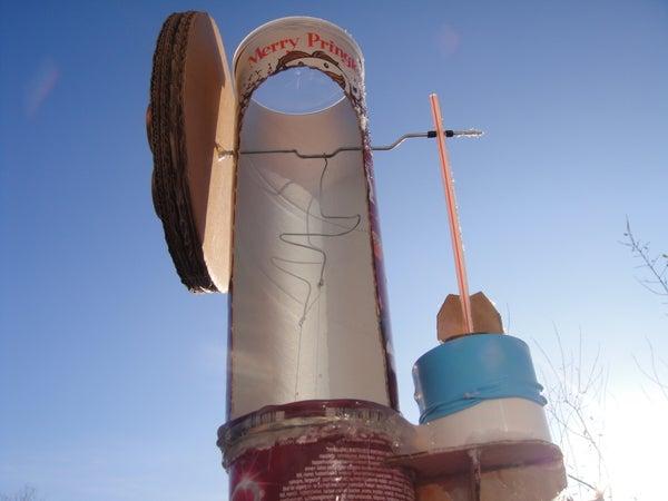 The Amazing Pringles Stirling Engine