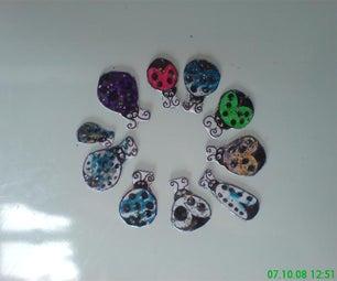 Ladybird Fridge Magnets
