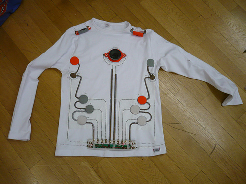Wearable Toy Piano