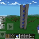 MCPE water ladder-Go Twice As Fast!