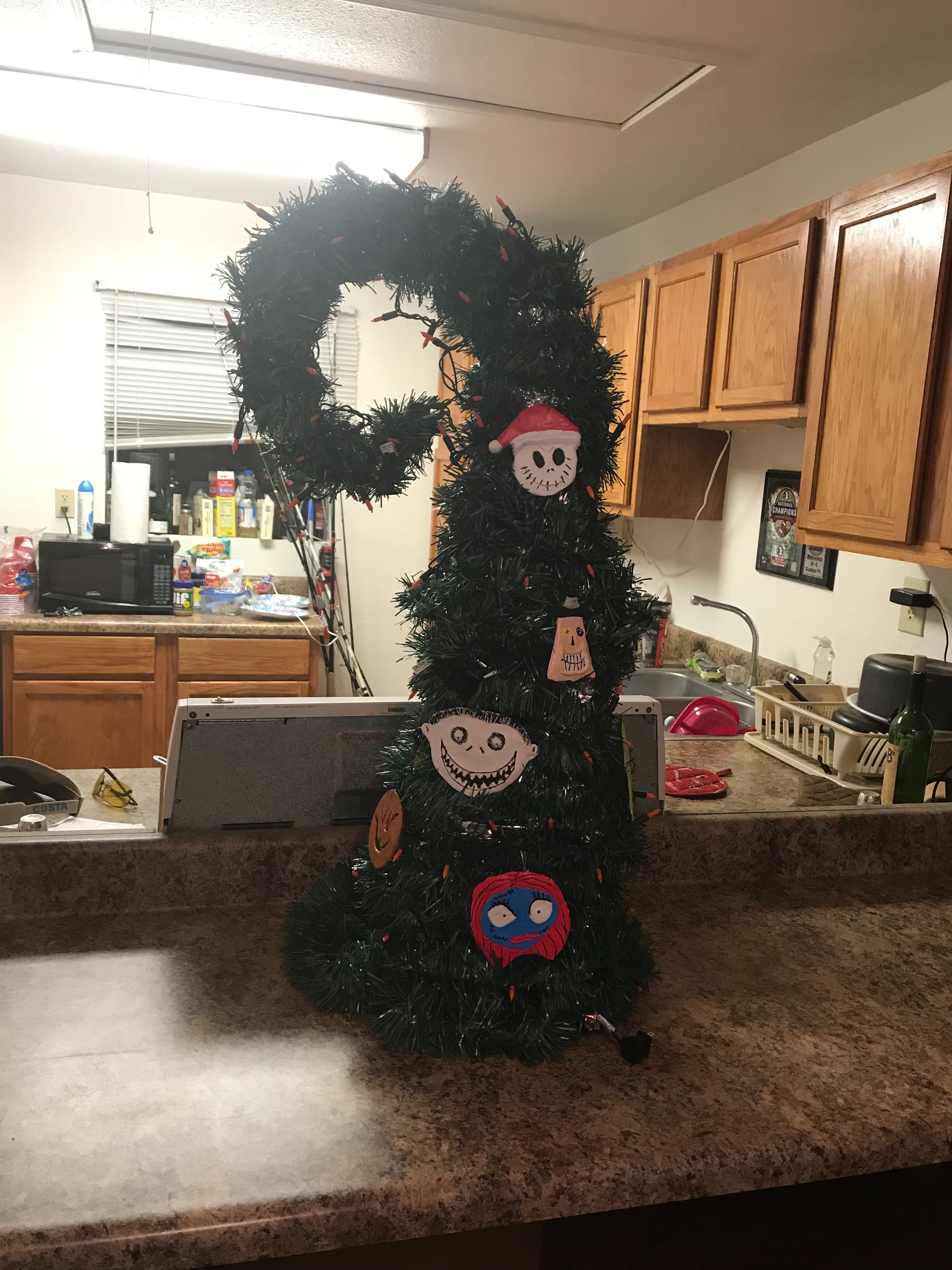 Nightmare Before Christmas Tree With Pictures Instructables