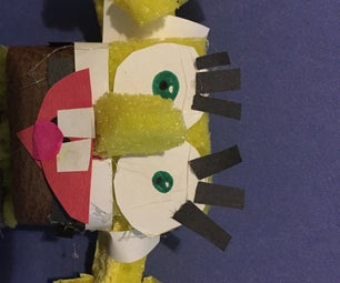 Replica 3D Little Spongebob Movie Size