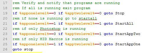 Running Application Checks