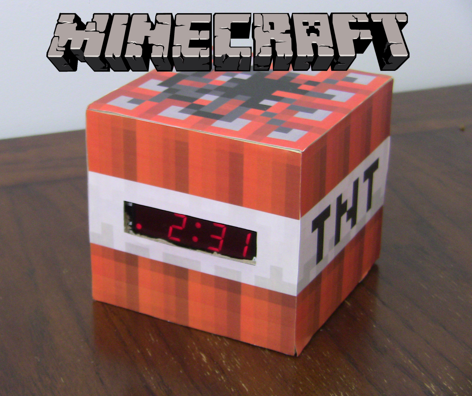 Minecraft TNT Clock
