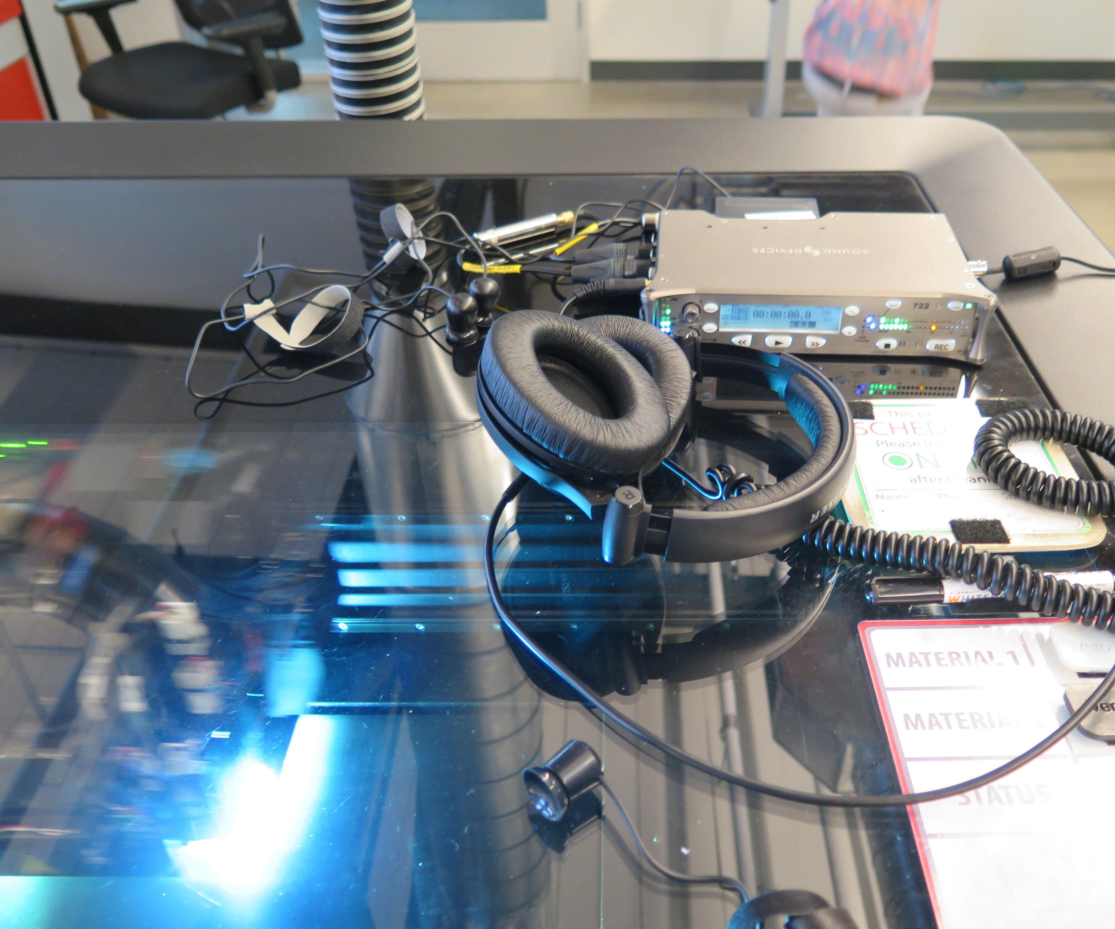 Industrial ASMR: Mining an Objet 3D Printer for Sound