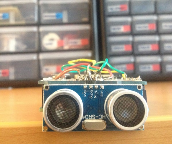 Ultrasonic Ballotbot