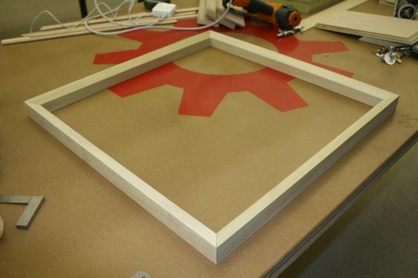 Stretcher Frame, I Made at TechShop