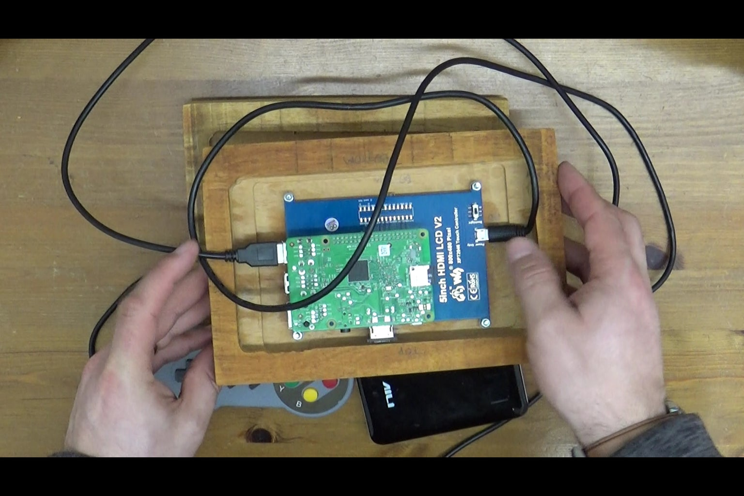 Install and Test the Pi and Screen