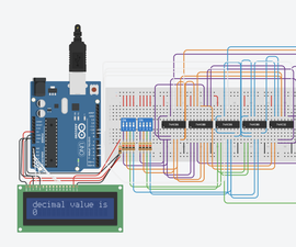 4Bit Adder With LCD Display