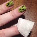 Remove Stubborn Glitter Nail Polish