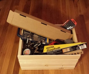Scrap Crate Hidden Compartment