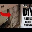 DIY Radius Router Templates