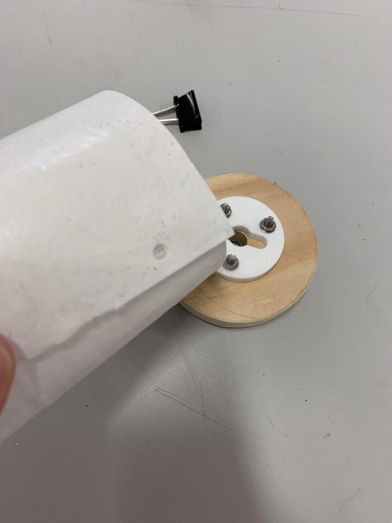 Making + Fitting Plastic Shade
