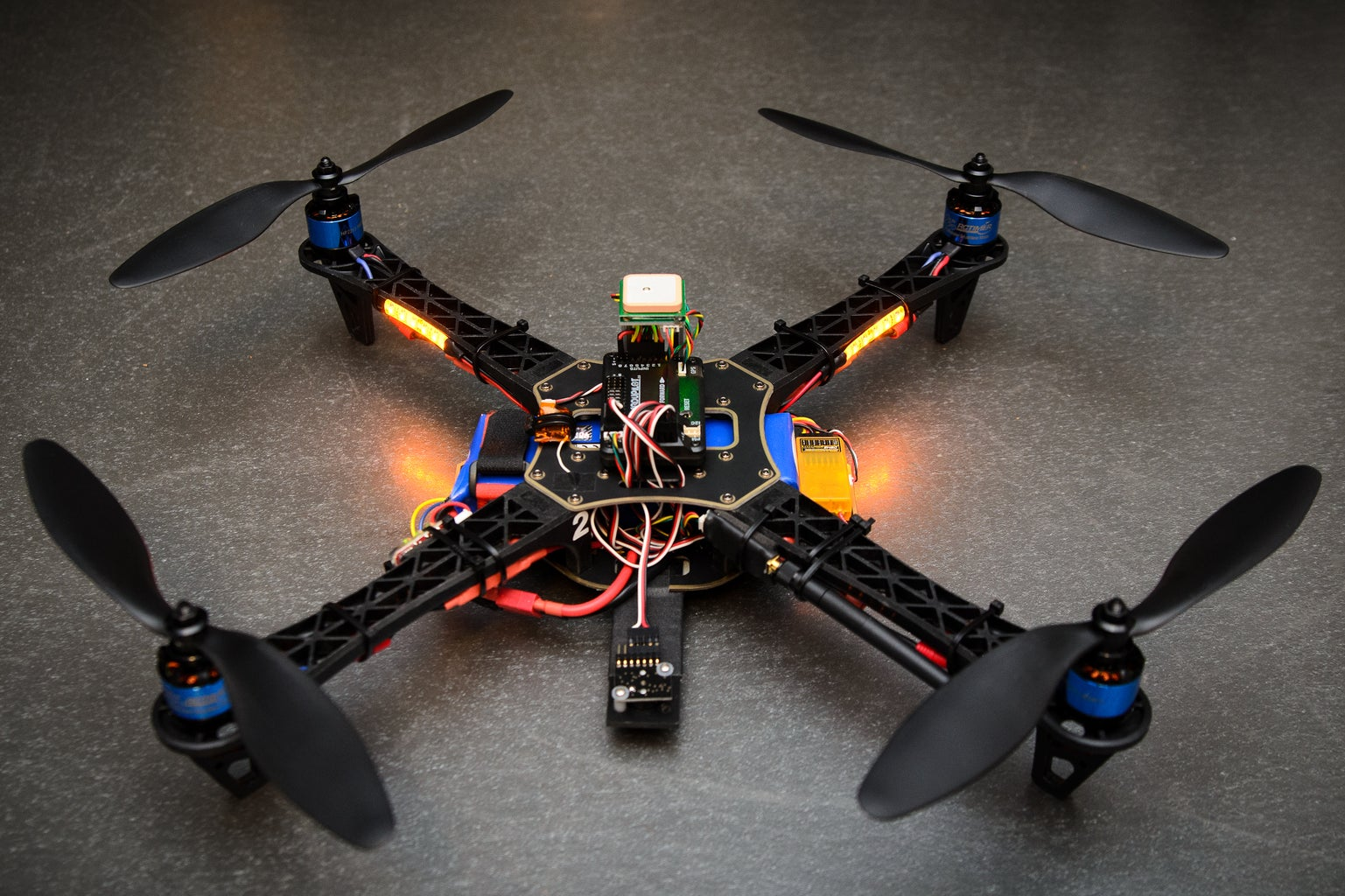 Being Practical: Making a Quadcopter