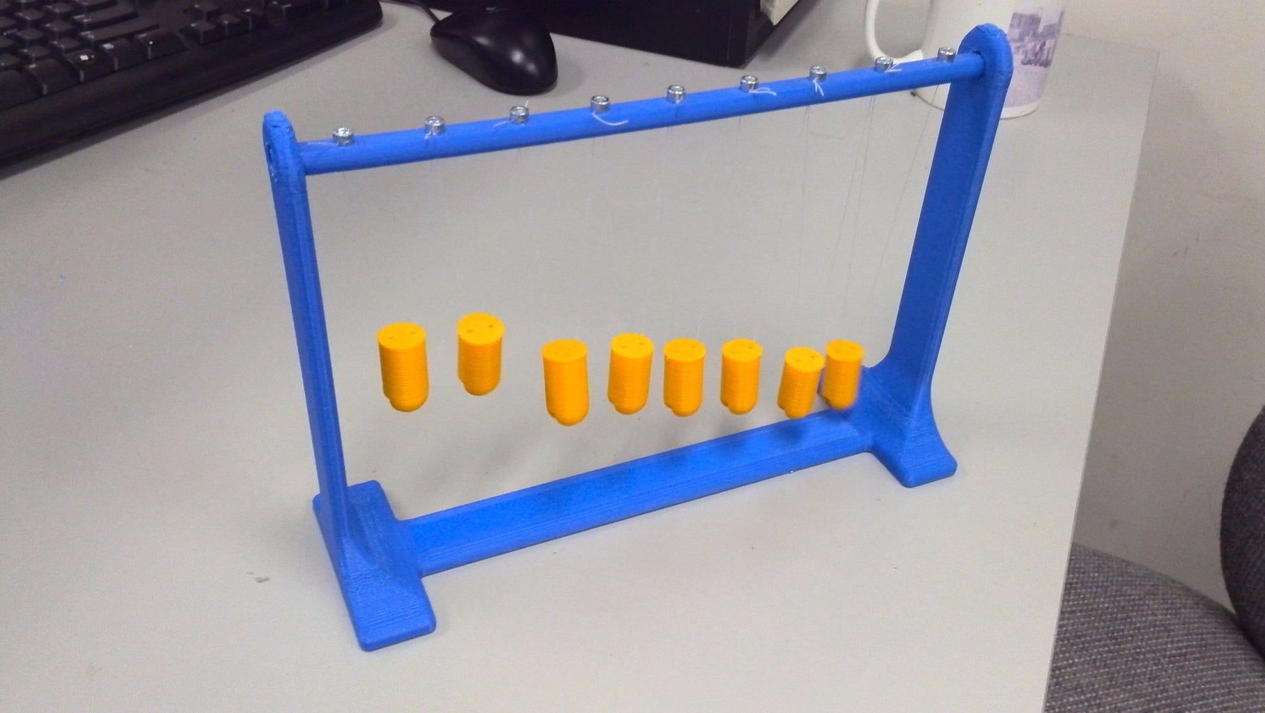 3D Printed Wave Pendulum