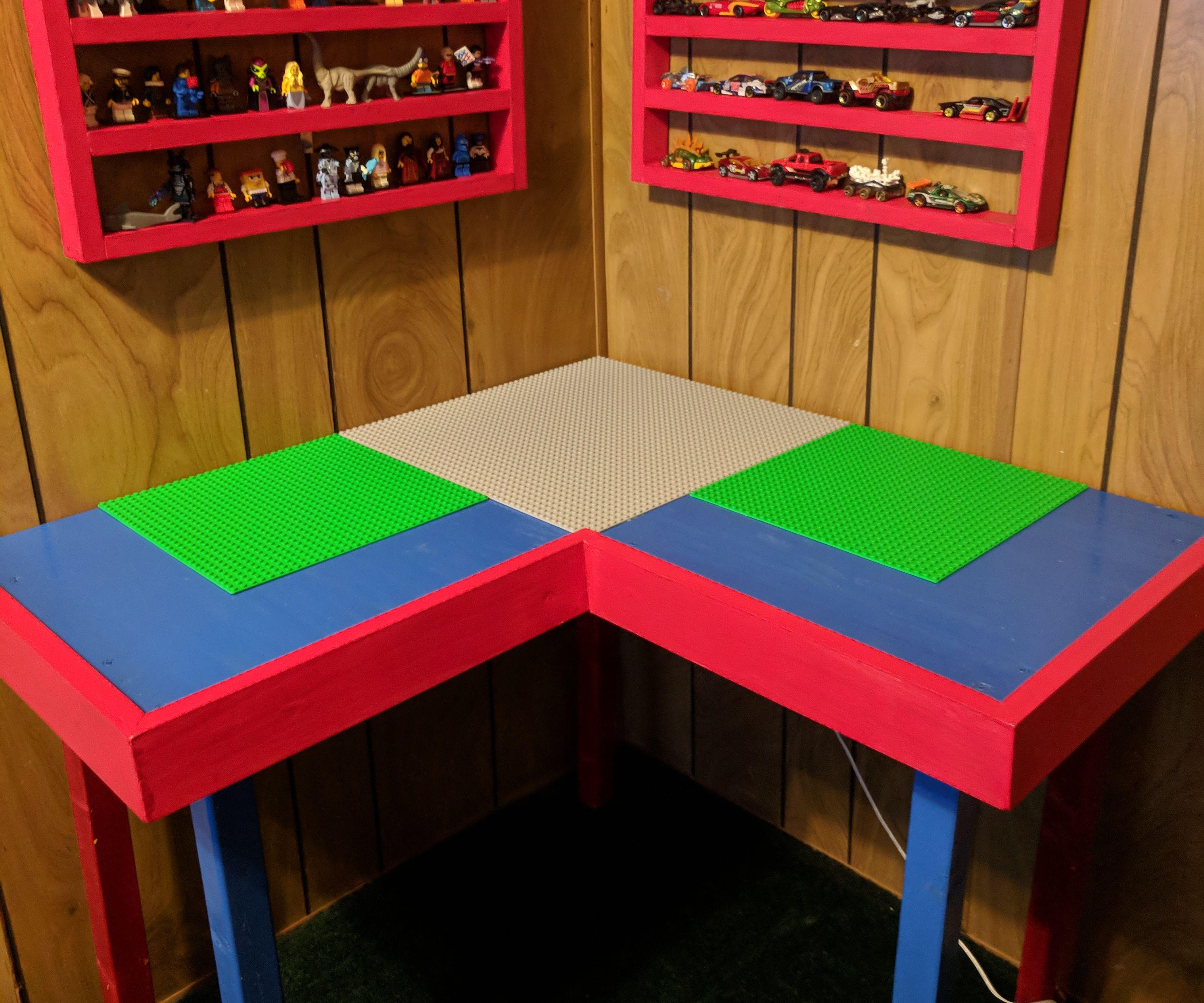 Corner Lego Table