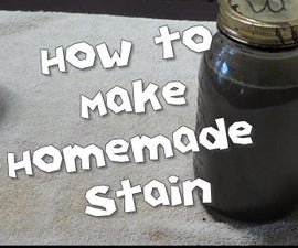 How to Make Homemade Stain