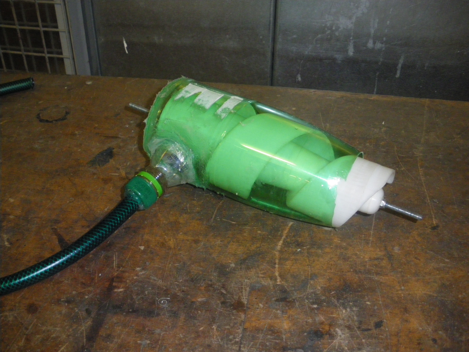 How to Make a Screw Centrifugal Water Pump