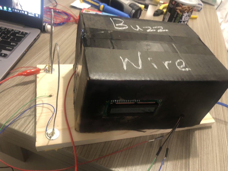 Arduino Buzz Wire Game