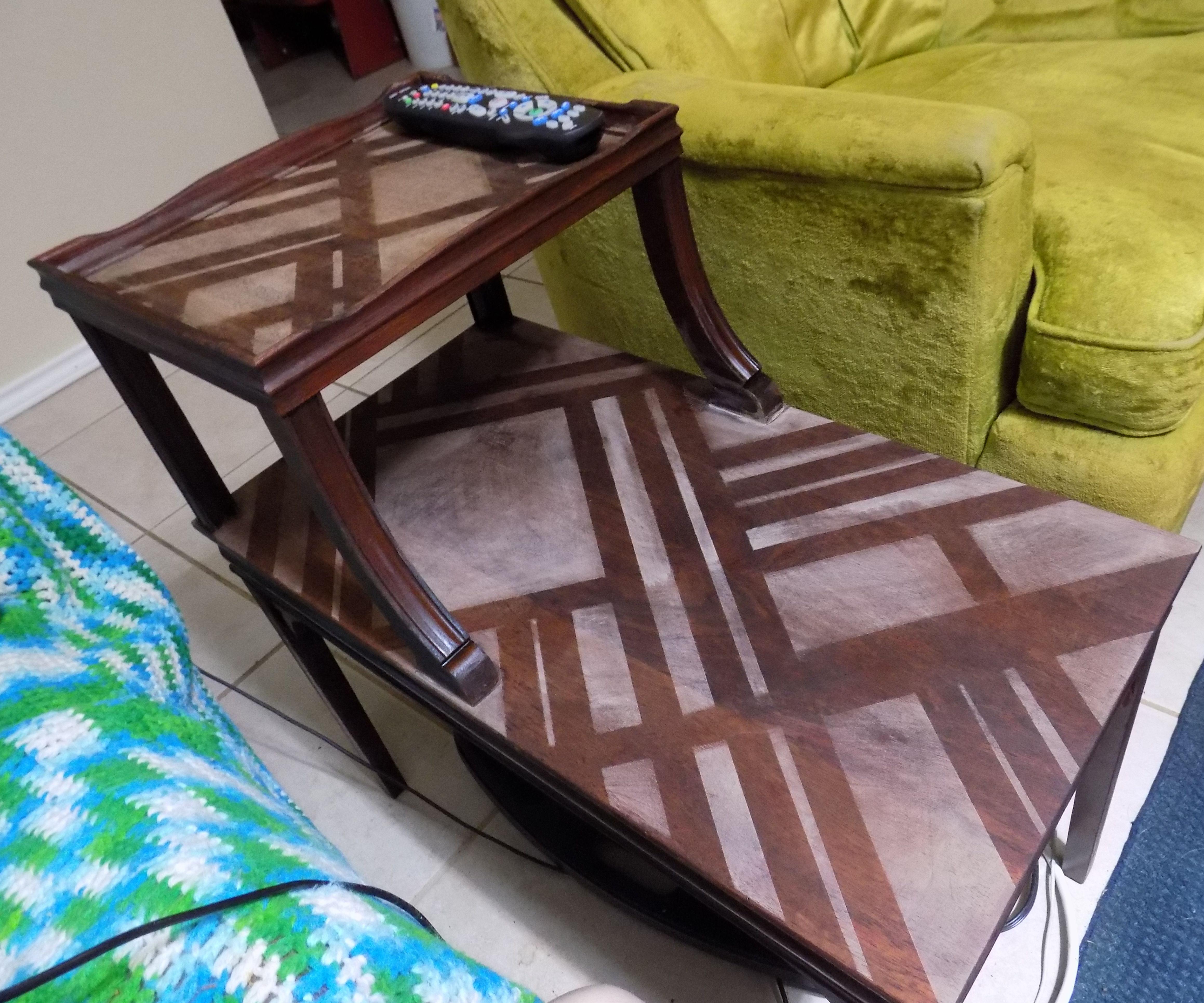 Art Deco Inspired Wood Refinishing Treatment