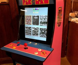 Electronics for the Miniature Arcade Cabinet