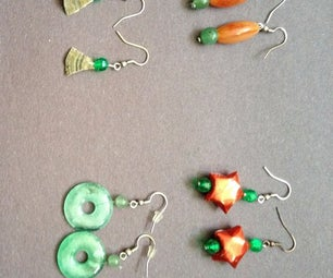 How to Make 3 Types of Dangling Earrings