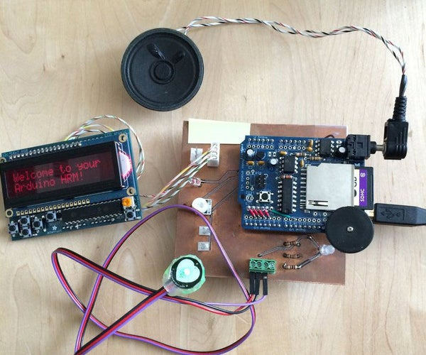 Talking Arduino Heart Rate Monitor