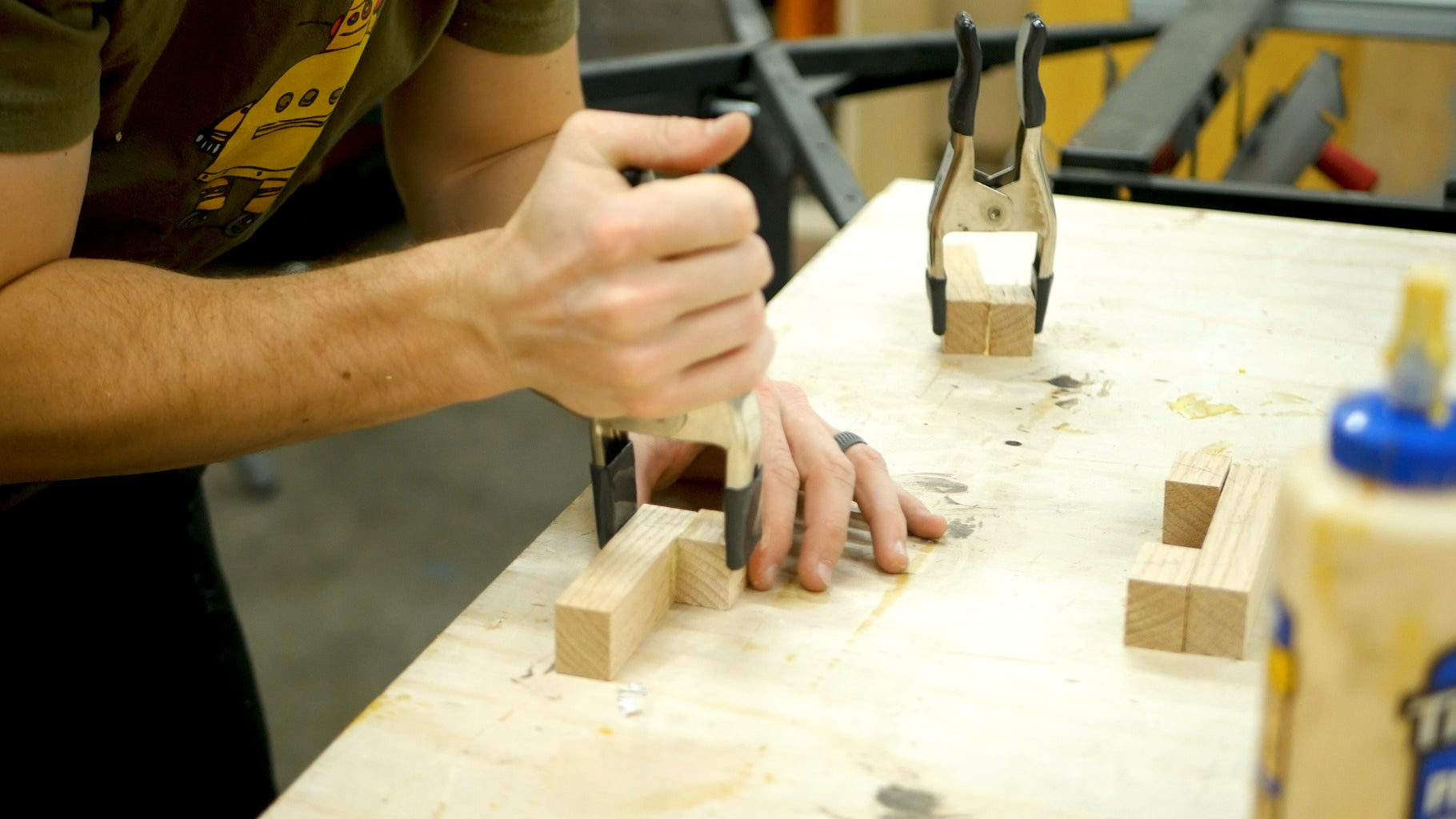 Stirrup Assembly and Power Carving - Round 3