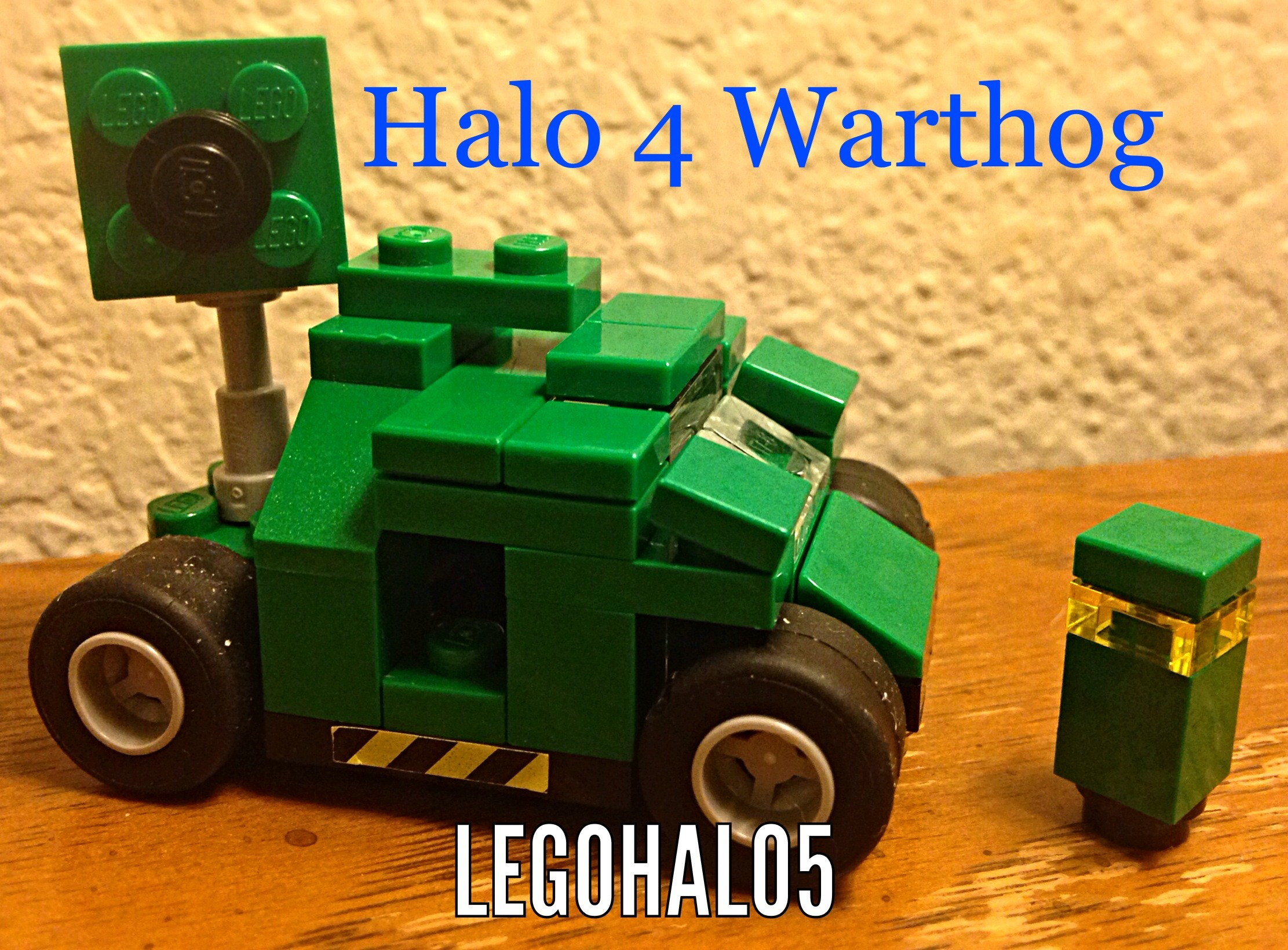 Lego Halo Warthog!
