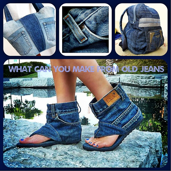 What Can You Make From Old Jeans