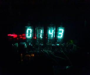 来自旧俄罗斯VFD管的Arduino盾牌:时钟,温度计,伏特计......