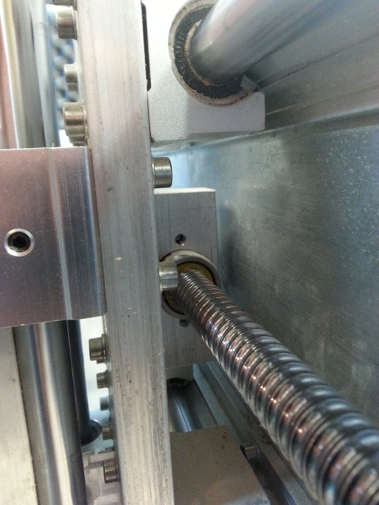 X- and Y-axis Drive Nut Mount