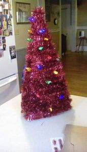 Upcycled Cardboard Christmas Tree
